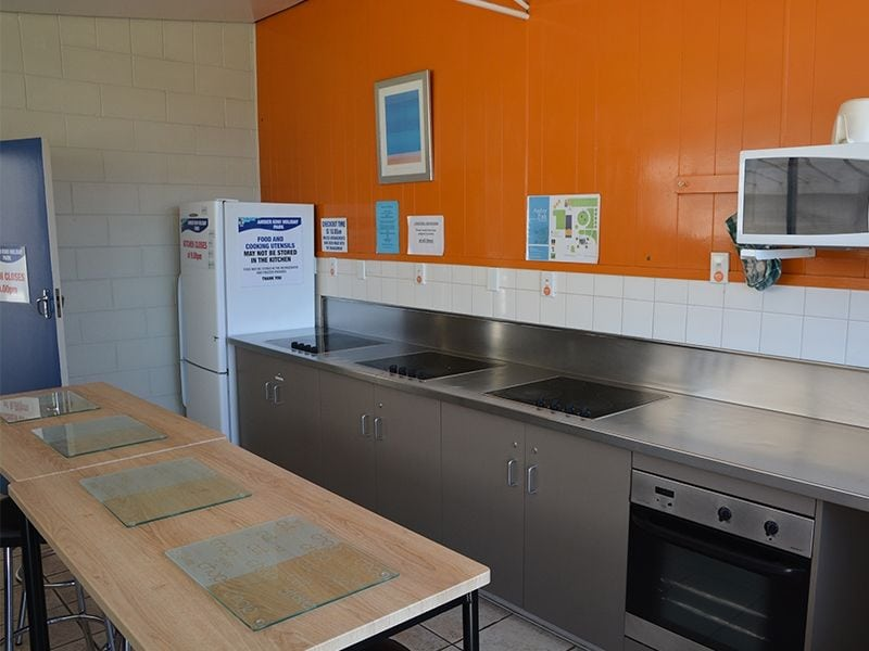 Accommodation Christchurch Communal Kitchen